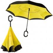 Инновационный обратный зонт (Жёлтый)
