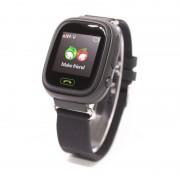 Умные детские часы с телефоном и GPS трекером Smart Baby Watch Q90 (Черные)