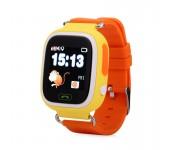 Часы Smart Baby Watch Q90 (Оранжевые)