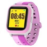 Smart Baby Watch E529 умные детские часы телефон с GPS (Розовые)