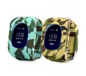 Умные часы Smart Baby Watch Q50 с GPS трекером (Комуфляж)