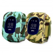 Умные часы Smart Watch Q50 с GPS трекером (Камуфляж)