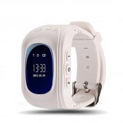 Умные часы Smart Baby Watch Q50 с GPS трекером (Белые)