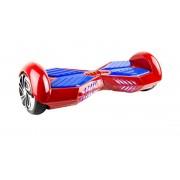 Электро самокат Гироскутер Smart Wheel, в комплекте сумка с приложением (Красный с синим)