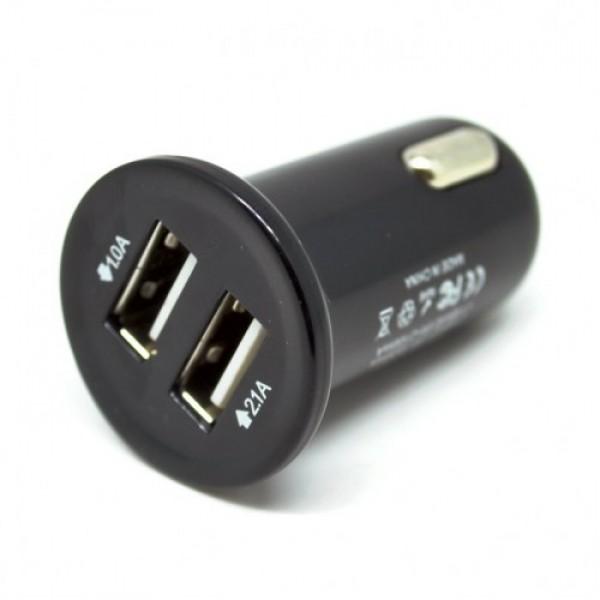 Автомобильное зарядное устройство Remax RCC-201 2.1А mini (Черный)