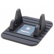 Универсальный держатель-коврик в автомобиль для смартфона Remax Fairy (Черный)