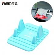 Универсальный держатель-коврик в автомобиль для смартфона Remax Fairy (Голубой)