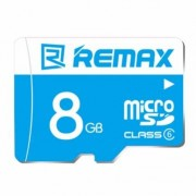 Карта памяти Remax Micro SD Card 8Gb C6 (Голубая)