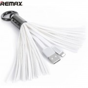 Кабель Remax Tassels Ring lightning RC-053i (Белый)