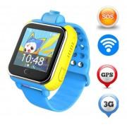 Часы Smart Baby Watch Q75 Q730 Q200 (Голубой)