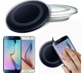Беспроводное зарядное устройство Qi Wireless Charging Kit для iPhone (iOS) (Летающая тарелка Белая)