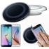 Беспроводное зарядное устройство Qi Wireless Charging Kit универсальный ресивер в комплекте iOS или Android (Летающая тарелка Белая)