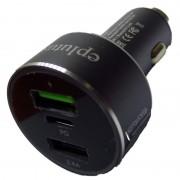Автомобильное зарядное устройство Eplutus CU-208 (Черный)