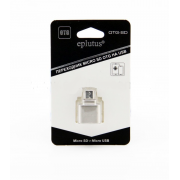 Переходник Micro SD на Micro USB Eplutus OTG-SD (Серебристый)