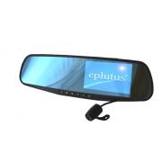 Автомобильный видеорегистратор-зеркало Eplutus D02 (Черный)