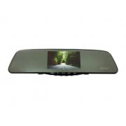 Автомобильный видеорегистратор-зеркало с 2-мя камерами и сенсорным экраном Eplutus D10 (Черный)