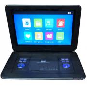 Портативный DVD плеер LS-142T c цифровым тюнером DVB-T2 15 (Черный)