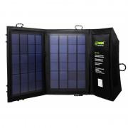 Солнечная батарея панель 1 USB 7W (2 панели стороны)