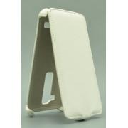 Чехол armor Флип-кейс для LG Leon (белый)