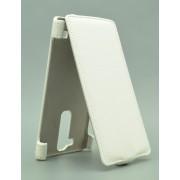 Чехол armor Флип-кейс для LG Magna (белый)