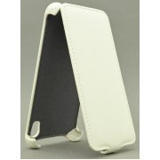 Чехол armor Флип-кейс для Micromax A104 (белый)