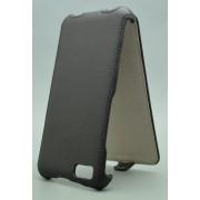 Чехол armor Флип-кейс для Micromax A107 (черный)
