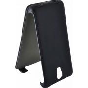 Чехол armor Флип-кейс для Micromax AQ5001 (черный)