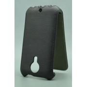 Чехол armor Флип-кейс для Micromax D200 (черный)