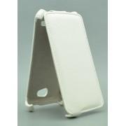 Чехол armor Флип-кейс для Micromax Q324 (белый)
