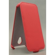 Чехол armor Флип-кейс для Micromax Q380 (красный, фиолетовый)