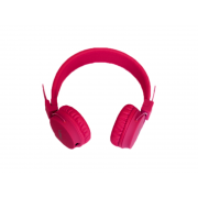 Наушники NIA A1 проводные без кнопки ответа (Розовые)