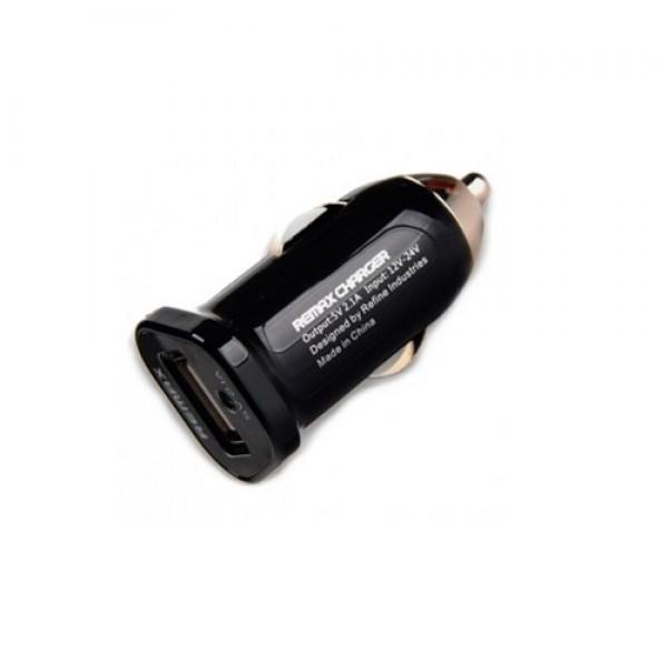 Универсальное зарядное устройство Remax в автомобиль 2.1 А
