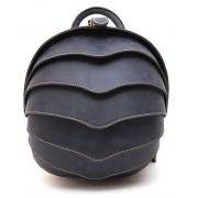 Рюкзак Shell small натуральная кожа (синий)