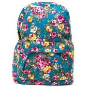 Рюкзак Flowers Aqua (цветы)