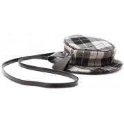 Рюкзак-клатч Шляпка Клетка (серый)