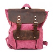 Рюкзак L&F 6876-1 натуральная кожа плотная ткань розовый