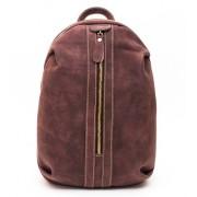 Рюкзак Zip (натуральная кожа) фиолетовый
