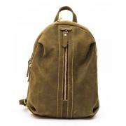 Рюкзак Zip (натуральная кожа) хаки