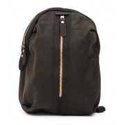 Рюкзак Zip (натуральная кожа) черный