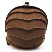 Рюкзак Shell small (натуральная кожа) коричневый