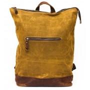 Рюкзак  L&F  Rectangle (натуральная кожа+плотная ткань) хаки