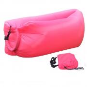 Надувной диван-лежак (розовый)