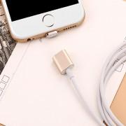 Магнитный кабель для зарядки iPhone, iPad lightning (золотой)