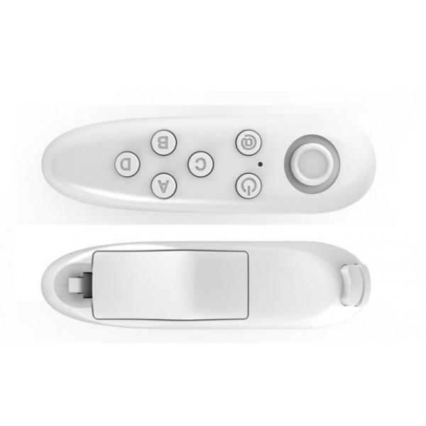 Беспроводной bluetooth джойстик для iOs и Android смартфонов (белый)