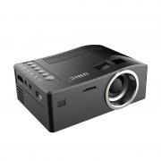 Портативный мини-проектор LED проектор UNIC UC18 с поддержкой HD видео (чёрный)