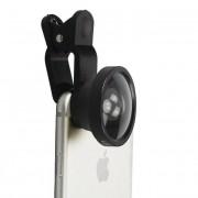 Универсальный объектив линза Lens Clip для смартфона Широкоугольный Super Wide 0.4x