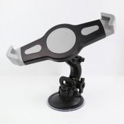 Универсальный автомобильный держатель для планшета и навигатора (чёрный)
