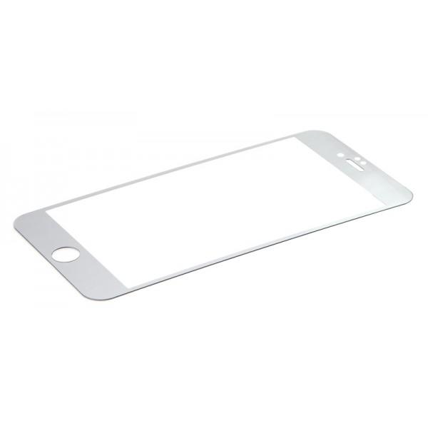 Защитное стекло для iPhone 6 Plus Tempered Glass Screen Protector (Серебряный)