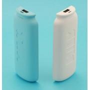 Универсальный внешний аккумулятор 2 в 1 Remax Power Bank Power Box Milk 11000 мАч (Белый синий)