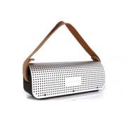 Аудиоколонка колонка Remax Music Box RB H1 Speaker, Power Bank 8800 мАч (Серебряная)